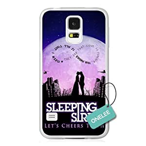 Onelee(TM) - Customize Cute Popular Rock Band SWS Sleeping with Sirens Samsung Galaxy S5 Case & Cover - Transparent 9