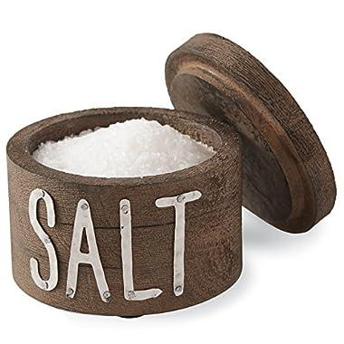 Mud Pie Bistro Salt Cellar, Brown