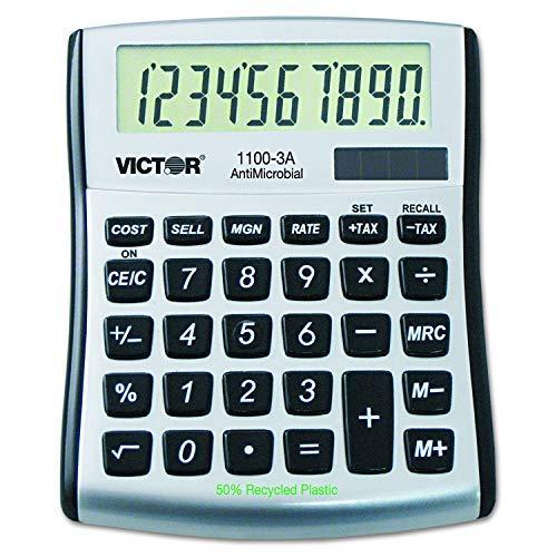 Victor 10-Digit Desktop Calculator (11003A) (3-Pack)