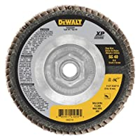 "DEWALT DWA8280H 40G T29 XP Ceramic Flap Disc, 4-1/2"" x 5/8"""