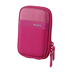 Sony LCSTWP/P Compact Carrying Case for Cyber-Shot Digital Camera (Pink)