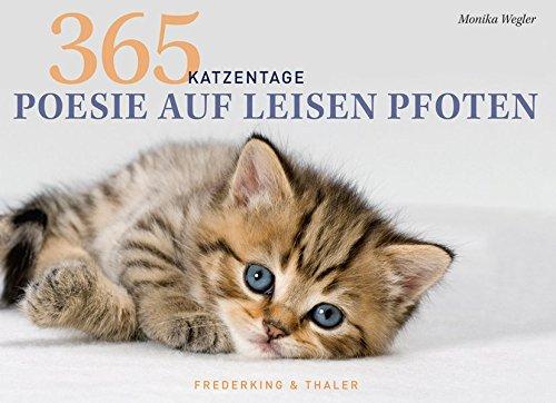 Tischaufsteller – Poesie auf leisen Pfoten: 365 Katzentage