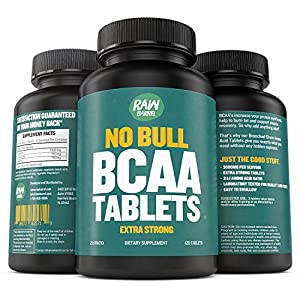 Raw Barrel's - Pure BCAA Tablets - EXTRA STRONG 1000mg Per Pill
