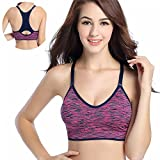 PerfectPrice Women Fitness Yoga Sports For Running Gym Adjustable Size : M Bust : 80-90cm/31.5-35.4in Cup : 75(C-D)-80(A-B)