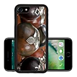 Luxlady Premium Apple iPhone 7 iPhone7 Aluminum Backplate Bumper Snap Case Close up of calabash cups for mate Mate is a traditional drink very similar to tea in Argentina Uruguay Paraguay and some par