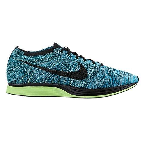 Nike Men's Flyknit Racer Running Shoes Blue Lagoon 526628-401 (10.5)