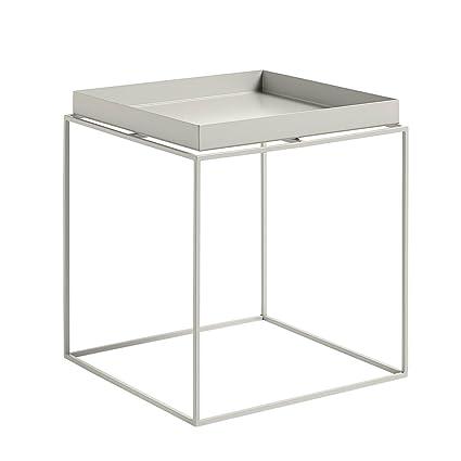 Hay Tray Side Table.Hay Hay Tray Table Medium Grey Powder Coated Metal