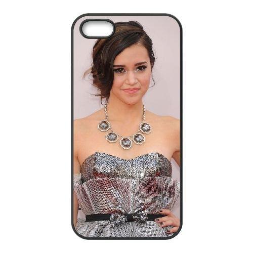 Megan Nicole 003 coque iPhone 5 5S cellulaire cas coque de téléphone cas téléphone cellulaire noir couvercle EOKXLLNCD25965