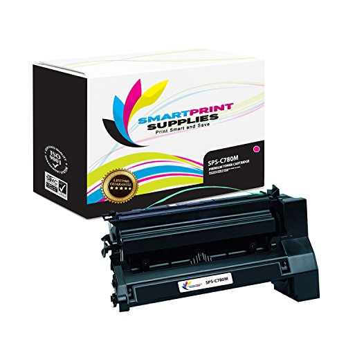 Print C772 Cartridge Magenta - Smart Print Supplies Compatible C780 C782X1MG Magenta Extra High Yield Toner Cartridge Replacement for Lexmark C770 C772 C780 C782 X780 X782 Printers (15,000 Pages)