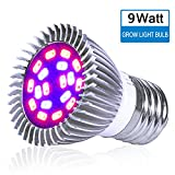 King-mini 9W LED Grow Light Blub Full Spectrum Plant Growing Lamp for Indoor Plant Growing Flowering E27 AC 85~265V Review