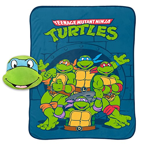 ninja turtle blanket pillow - 3