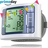 #2: Blood Pressure Monitor Wrist - Large Screen Display - Clinically Accurate & Fast Reading - FDA Approved - BPM-337 by Iprovèn (BPM Wrist)