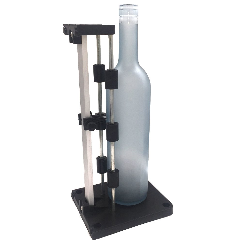 Botella de vidrio de herramientas de corte, Botella Eliter tarro de cristal cortador corta botellas de cerveza del vino Plaza Triángulo Oval: Amazon.es: ...