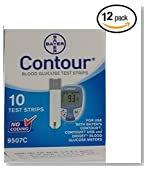Bayer Contour Blood Glucose, 120 Strips
