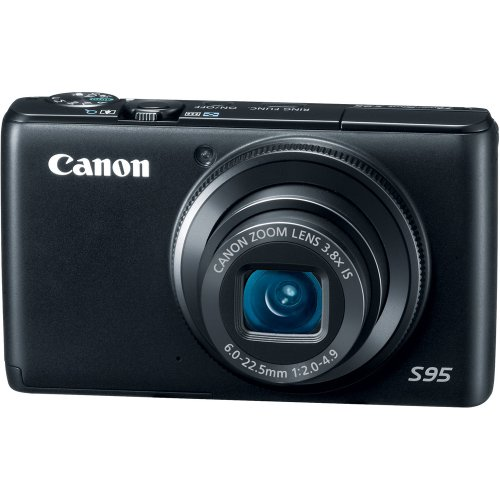 Canon PowerShot S95 10 MP Digital Camera with 3.8x Wide Angle Optical Image...