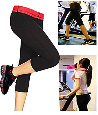 Hot Neoprene Shaper Thermal Slimming Sport Pants Activewear Leggings For Women