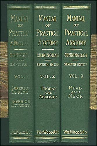 Manual of Practical Anatomy [3 Volume Set]: Superior and Inferior ...