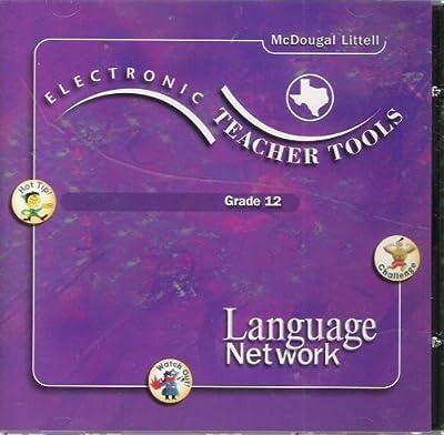 Electronic Teacher Tools; Grade 12; Language Network; Windows 95/98, Mac 7.6.1