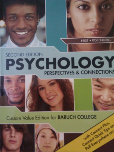 Psychology: Perspectives & Connections (Custom Value Edition for Baruch College)