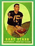 Bart Starr 1958 Topps Football Reprint Card (Packers)