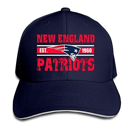 Harriy New England Patriot Sunbonnet Sandwich Hat Navy