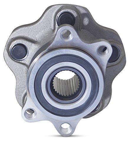 Tomegun 4 to 5 Lug Wheel Bearing Conversion Hub Rear Pair For 89-99 S13/S14 Nissan 240SX by Tomegun (Image #3)
