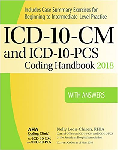 Icd 10 cm and icd 10 pcs coding handbook with answers 2018 rev ed icd 10 cm and icd 10 pcs coding handbook with answers 2018 rev ed 9781556484292 medicine health science books amazon fandeluxe Choice Image