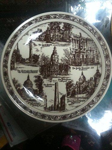 Vernon Kilns Vintage My Maryland' Plate - Baltimore 1940 Emge Lycett