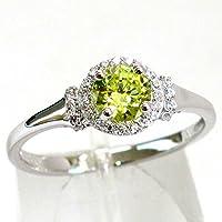 jindaratshop Elegant 925 Silver Peridot Ring Wedding Engagement Gifts Women Jewelry Size 6-10 (7)