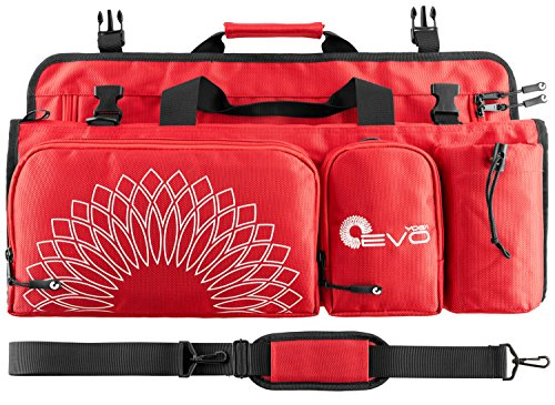 Yoga EVO Yoga Bag for Women - Large Yoga Duffle Bag for Mat and Towel with Adjustable Strap