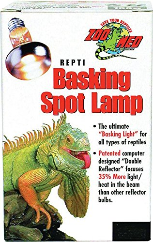 Zoo Med Repti Basking Lamp 50 Watt for Reptiles (Lamp Watt Basking)