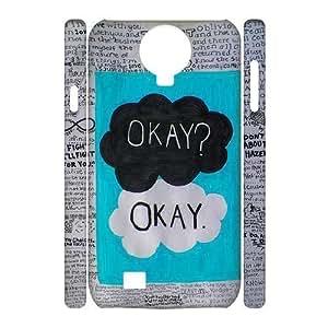 Custom New Case for SamSung Galaxy S4 I9500 3D, Okay Phone Case - HL-710095 Kimberly Kurzendoerfer