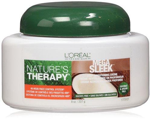 loreal-natures-therapy-mega-sleek-deep-conditioning-creme-8-ounce