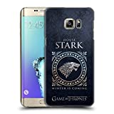 Official HBO Game Of Thrones Stark Metallic Sigils Hard Back Case for Samsung Galaxy S6 edge+ / Plus