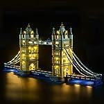 POXL Set di Luci per Montagne Russe, Kit di Illuminazione LED Luce LED Light Compatibile con Lego 10261 - Non includere…  LEGO