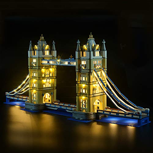 London Tower Bridge - LIGHTAILING Light Set for (Architecture London Tower Bridge) Building Blocks Model - Led Light kit Compatible with Lego 10214(NOT Included The Model)