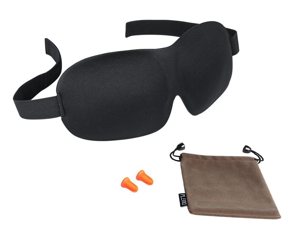 PLEMOI Kit de Antifaces para Dormir D Máscara de Dormir  Sueño