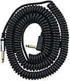 VOX VCC090BK Coiled Cable 29.5' with Mesh bag, Black