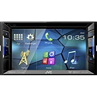 JVC KWV120BT Bluetooth DVD/CD/USB Receiver with 6.2 WVGA Touch Panel Monitor