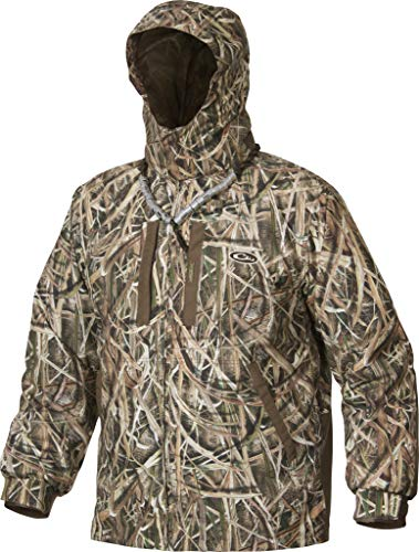Drake EST Heat Escape Waterproof Full Zip 2.0 Jacket (Mossy Oak Shadow Grass Blades) (XLarge)