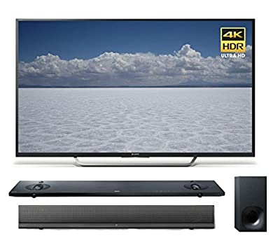 Sony 55-Inch Television X750D / X700D 4K HDR with Android TV + HTNT5 Sound Bar
