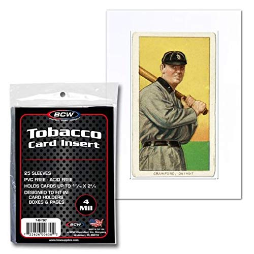 Ultra Pro 7442784868 Tobacco Card Sleeve 100 per Pack