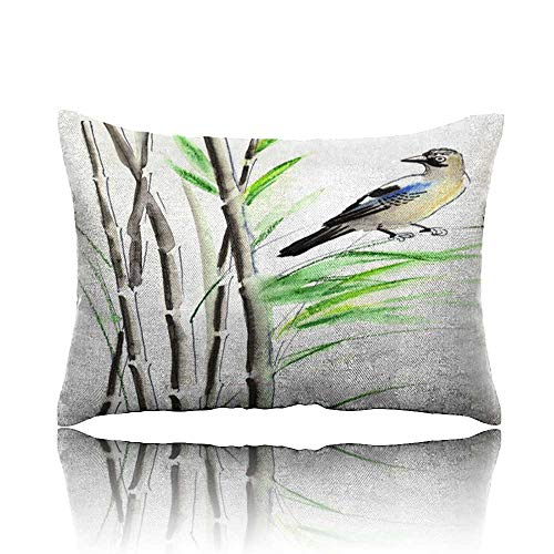 Travel Pillow Bird in Bamboo Memory Foam Pillow 13