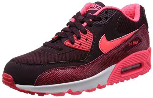8cb5578c44 nike womens air max 90 trainers 325213 sneakers shoes (uk 3 us 5.5 eu 36, deep  burgundy hyper punch team red 610) - Buy Online in UAE.