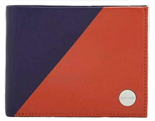 Calvin Klein - Sliced 5cc Coin, Carteras Hombre, Naranja ...