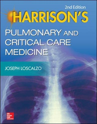 Harrison's Pulmonary and Critical Care Medicine, 2e
