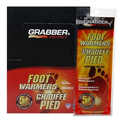 Grabber Warmers Foot Warmers, 5+ Hours, Medium/Large 30 pr