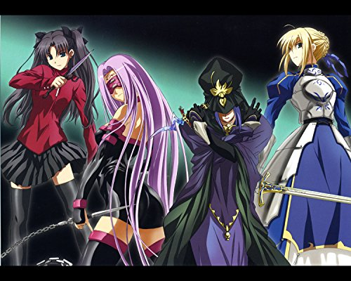 Fate Stay Night Poster Anime Wall Saber Home Decor Zero Japanese Rin Japan Promo