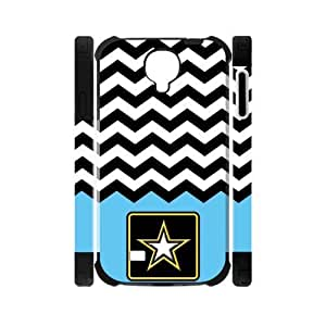 Canting_Good US Army Chevron Custom Dual-Protective Case Shell Cover for Samsung Galaxy S4 I9500 3D