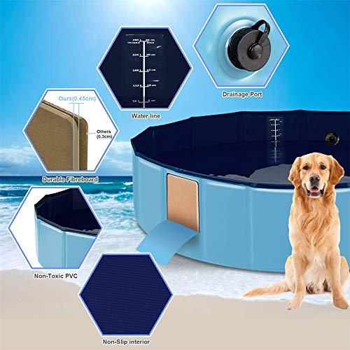 Folding-DogCat-Bath-Tub-Pet-Spa-Whelping-Box-Portable-Foldable-Pool-Portable-PVC-Pet-Bathing-Tub-for-Outdoor-Yard